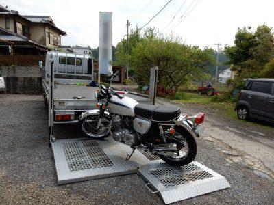ベストオートのCB750K2を四国のお客様に納車しました!