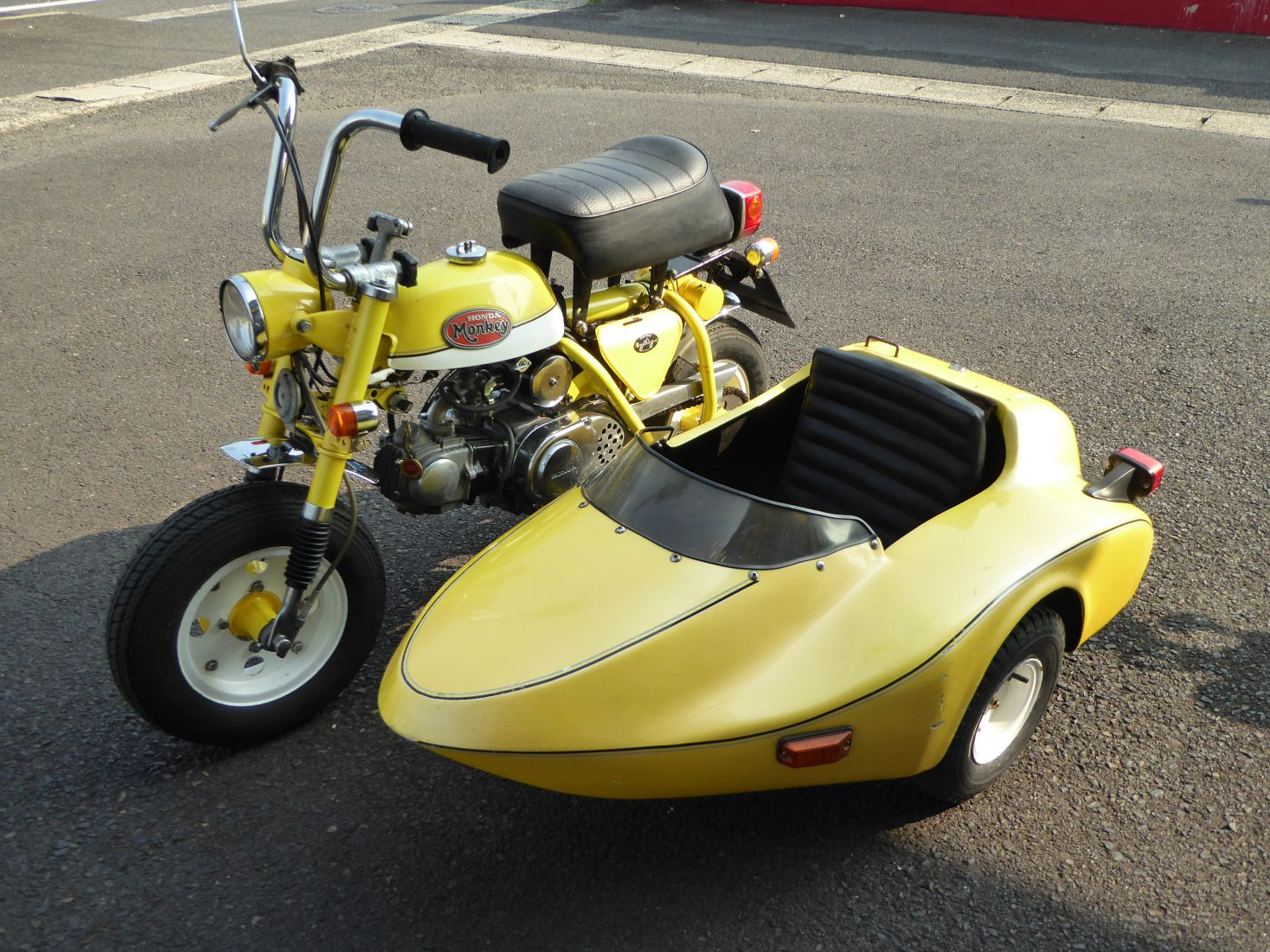 モンキーZ50Aサイドカー