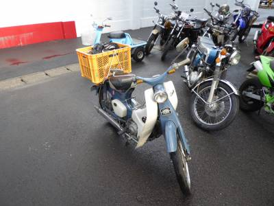 ベストオートの広島からスーパーカブC100でご来店!