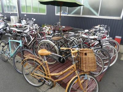 ベストオートのベストオートは自転車屋さんになったの?レトロな自転車もたくさんあります!