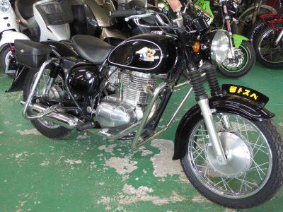 ベストオートのベストのレンタルバイクにはエストレヤカスタムもあります!