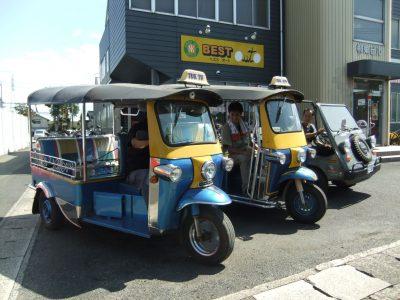 ベストオートのスマネ(島根)をトゥクトゥクでドライブ Part1