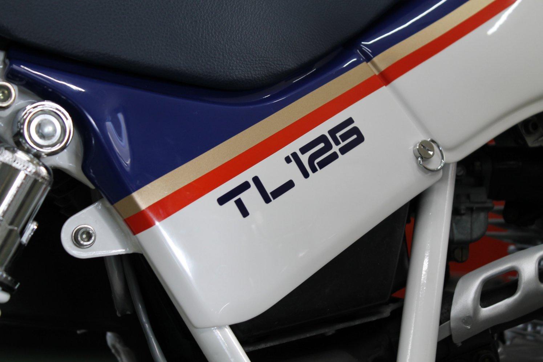 TL125 ステッカー