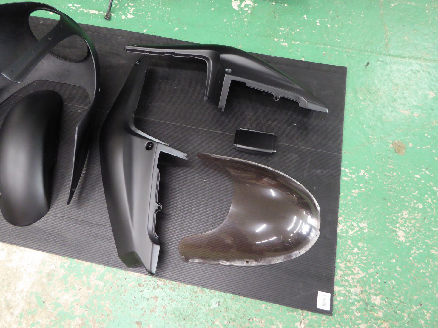 TRX850の外装