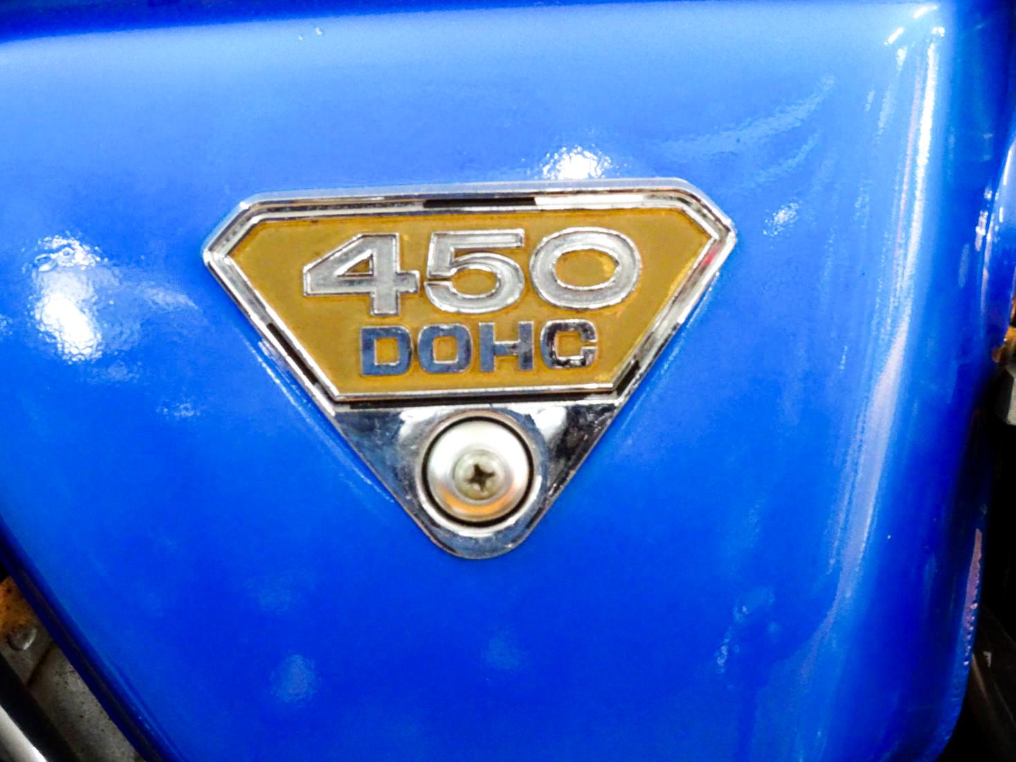 CB450 エクスポート