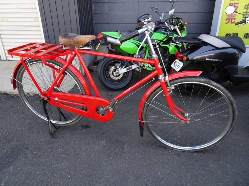 ゼブラ自転車 郵便自転車