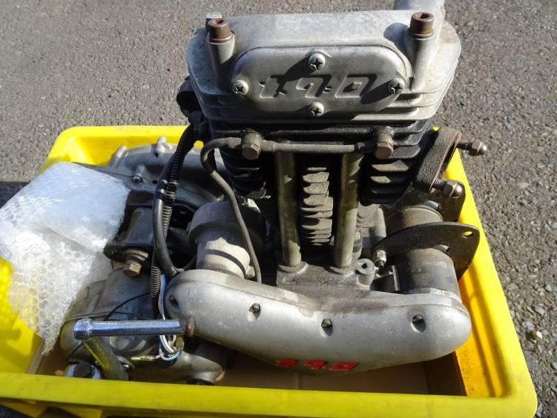 メグロS8のエンジン