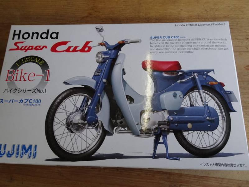 C100のプラモデル