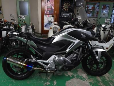 ベストオートのレンタルバイクのNC700にローダウンキットを取り付けました!