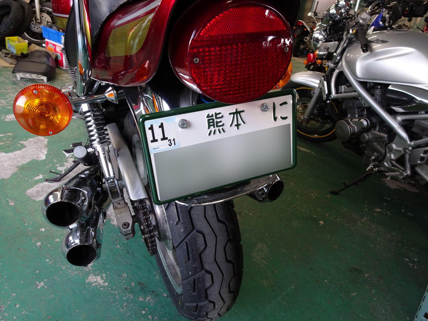 ゼファー400 Z2仕様