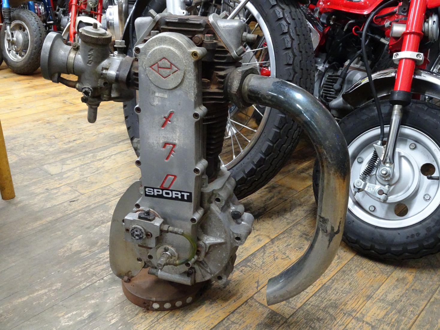 メグロ エンジン