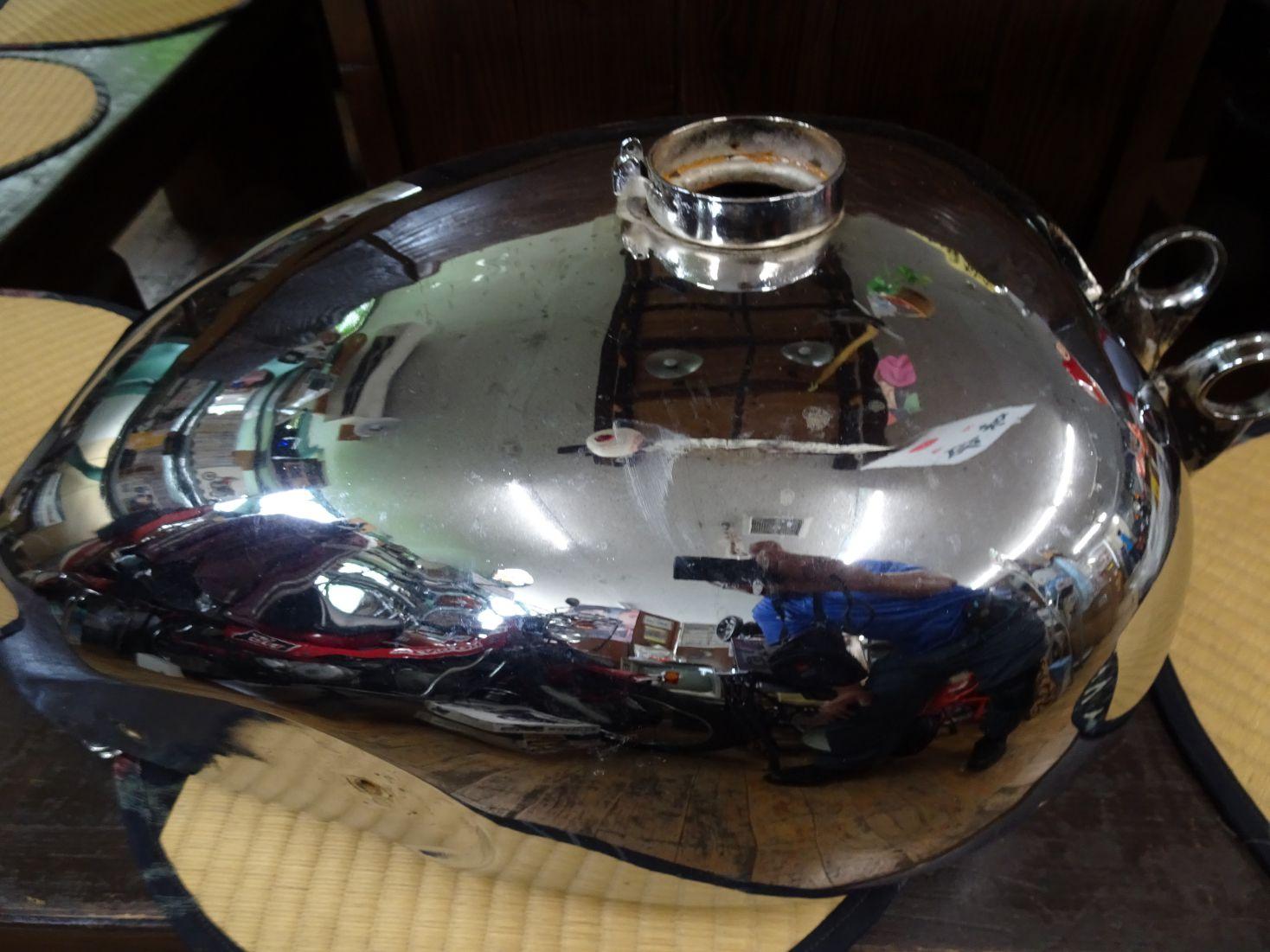 メグロ S3ジュニアのタンク