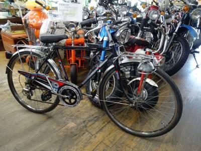 ベストオートの時代部屋にレトロな自転車が入りましたよ~!
