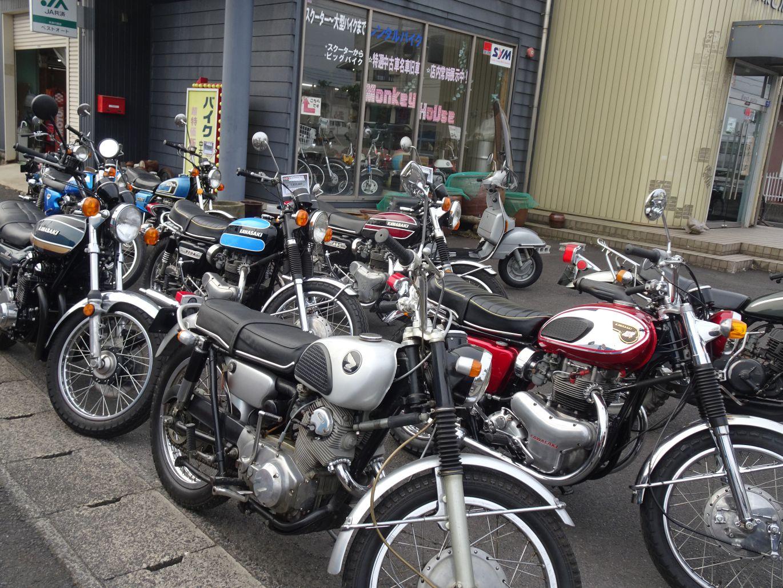 時代部屋のバイク